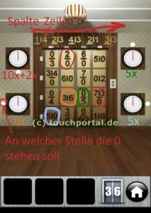 100 Doors 2013 Level 36 Lösung (mit Genehmigung von touchportal.de)