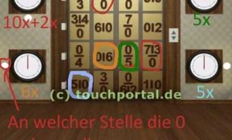 100 Doors 2013 Level 36 Lösung für Android