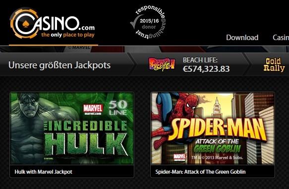 Casino Hulk Spiderman