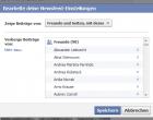 Facebook Tutorial: Profil Updates von allen Freunden wieder anzeigen