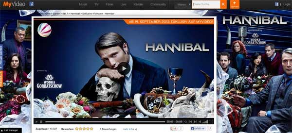 Hannibal bei MyVideo