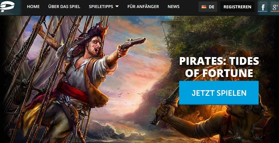 Piraten Browsergame