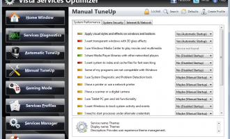 Windows-Dienste für mehr Leistung konfigurieren