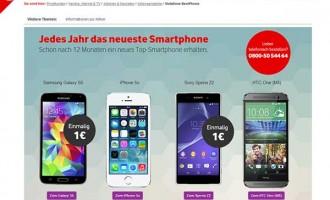 Jedes Jahr ein neues Sony Smartphone? Vodafone machts möglich