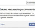 Die Facebook Neuerungen vom 14.9. / 15.9. : Abonnenten und Seiten – Das ist Neu