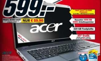 Acer Aspire 7740G-334G32MN Media Markt Notebook