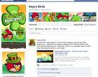 Angry Birds bald auf Facebook