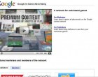 In Game Advertising – AdSense for Games