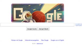 Google Doodle: Vor 50 Jahren der erste bemannte Raumflug