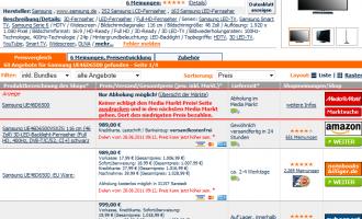 Media Markt vs. Internet – Wie funktioniert diese Aktion mit idealo.de?