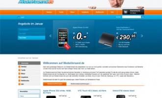 MediaVersand.de – Der Online Shop für Handys, Smartphones und Tarife