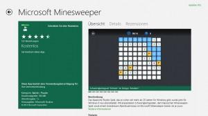 Minesweeper aus dem Store installieren
