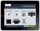 Siemens iPad und iPhone App berechnet die Ersparnis bei grünen Hausgeräten
