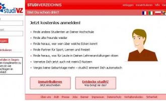 StudiVZ will neue AGB einführen