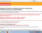 Lebensmittelklarheit.de: Server bricht zusammen