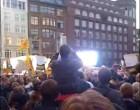 Video: Merkel in Hamburg: Flashmob trifft Kanzlerin 18.09.2009